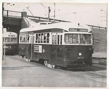 Streetcar in TORONTO ON, Neville Queen, Ontario Reproduction Trolly Photograph