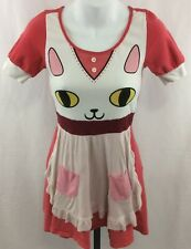 Bee and Puppycat Pink Dress Size S We Love Fine Cosplay Halloween Costume Fun