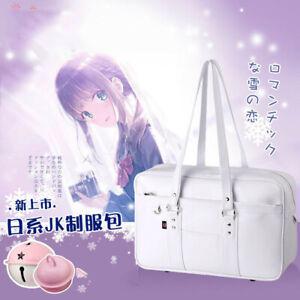 Japan Harajuku Sweet Lolita Shoulder Bag White School Bag JK Uniform Handbag