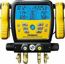 Fieldpiece SM480V - Four Port, Wireless SMAN Manifold with Micron Gauge