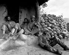 "1st Marine Division taking break on patrol 8""x 10"" Korean War Photo 5"
