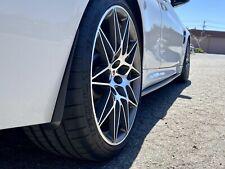 BMW F8x M3 M4 Carbon Fiber Rock Guardz Mud Flaps