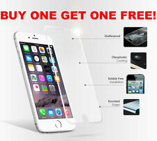 Tempered Glass 100% Genuine Film Screen Protector for Apple Iphone 6 6s One Free