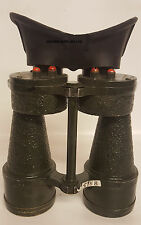 Genuine British WWII RAF MK4 X7 Binoculars & Case No.5 (A347)