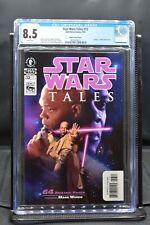 Star Wars Tales #13 Mace Windu Photo Variant CGC 8.5 Dark Horse 1st Baby Yoda