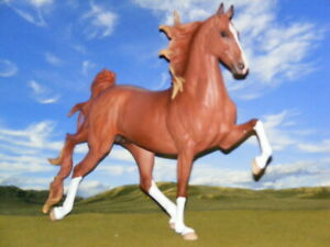 OOAK Breyer cm Custom Horse New Mold Saddlebred by D.Williams *Awesome!