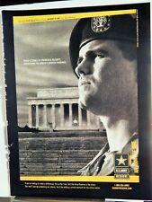 U.S. ARMY RESERVE ORIGINAL 2002 VTG AD