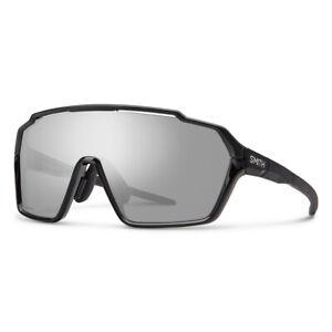 Smith Shift MAG Black Sunglasses w/ CP Platinum + Clear Lens