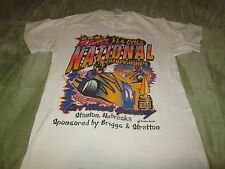 Dirt Track Racing Tee Shirt 2001 Kart National Go Kart Briggs & Stratton Sz S