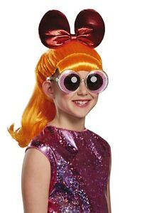 Powerpuff Girls Blossom Child Wig, Orange, Disguise