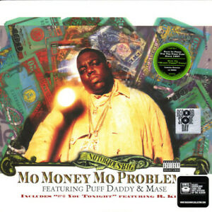 Notorious B.I.G. - Mo Money Mo Problems Maxi limited Money Green RSD new&sealed