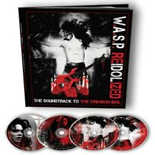 Re-Idolized W.A.S.P WASP Reidolized earbook w/ 2cd dvd blu ray booklet
