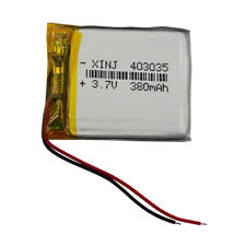 3.7V 403035 380mAh Polymer Li Po Battery Lipo For mp3 Camera Mp4 GPS smart watch