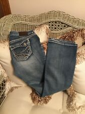 MAURICES Womens Low Rise Jeans STRETCH Size 7/8 SHORT