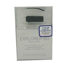 New listing Plantronics Explorer 80 Bluetooth 3.0 Headset Lightweight Long battery Black Ps