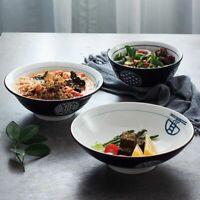 Japanese-style Ceramic Noodle Bowl Ramen Bowl Soup Bowl Large Noodle Bowls Beef