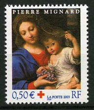 """Croix Rouge 2003. P. Salvi. """"La Vierge à la grappe"""" Y&T n° 3620"""