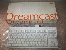 BOXED KEYBOARD SEGA DREAMCAST IMPORT JAP!