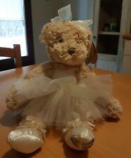 Peluche Louise MANSEN ourse danseuse Edda (37 cm)