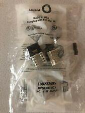 MPS100E-003 108232695 Category 5e Modular Jack, Black, Lot of 8, Package Damage