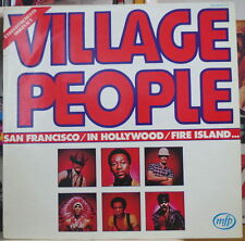 VILLAGE PEOPLE SAN FRANCISCO FRENCH LP MFP RECORDS 1977