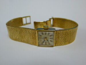 Ladies 9ct Gold Vintage Omega Hand-winding Watch