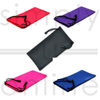 Glasses Sunglasses Case Drawstring Soft Wallet Phone Pouch