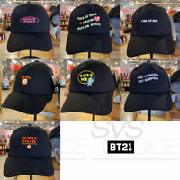 BTS BT21 Official Authentic Goods Ball Cap 7Characters 57cm By LINE FRIENDS