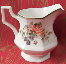 FRESH FRUIT milk jug JOHNSON Brothers English pottery cream jug 1/2 pint