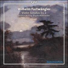 Wilhelm Furtwängler: Violin Sonatas Nos. 1 & 2, New Music