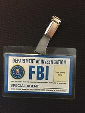 FBI  personalised  ID  BADGE,Fancy Dress,Stag Do, party