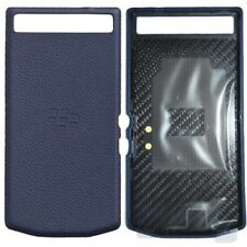PD LEATHER Battery Door Cover Cover Posteriore Blu per Blackberry p'9982 PORSCHE