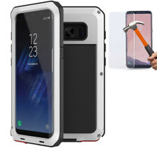 Shockproof Waterproof Gorilla Glass Metal Case Cover Samsung Galaxy S9 S8 Note10