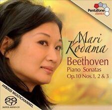 Piano Sonatas Op 10 Nos 1 2 & 3, Beethoven, Kodama, New Hybrid SACD - DSD