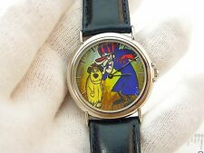"""DICK DASTARDLY & MUTTLEY,""""Wacky Races"""" MENS/KIDS CHARACTER WATCH,466,L@@K!"""