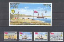 Schiffe , Segelschiffe , sailing ship Tuvalu Block +   Satz postfrisch **