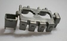 CUSTOM  Silver Gray Tactical Belt A3 X1  ( gun army weapons for LEGO minifigure)