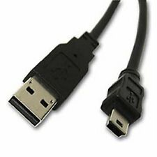USB A Male to Mini B 5 Pin Male Data Cable (0.6m)