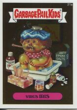 Garbage Pail Kids Chrome Series 1 Base Card 21a VIRUS IRIS