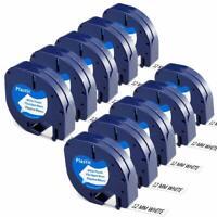 "Dymo3X kompatibles LetraTag-Etikettenband 91200 91330 91220 Letra Tag 1//2 /"""