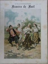 L'Illustration Noël 1894 sur la DANSE Opéra théâtre duel Russie Bosnie Russia