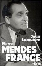 Jean Lacouture - Pierre Mendès France - 1981 - Broché