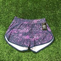 D5 NEW Champion Women's S Running Zip Pocket Athletic Shorts NWT