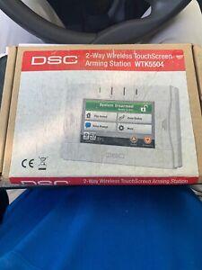 DSC 2-WAY WIRELESS TOUCHSCREEN ARMING STATION WTK5504 NEW!!