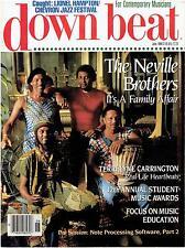 DOWN BEAT Jazz Magazine  - 6-1989 >  Neville Bros. Terri Lyne Carrington