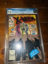 UNCANNY X-MEN #244 (Marvel Comics, 1989) CGC Graded 9.6!WHITE Pages
