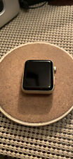 Apple Watch Series 2 38mm Aluminum Case Gold  White Sports Band - (MNNW2LL/A)