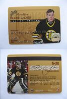 1995-96 Leaf 5 of 20 Lacher Blaine  studio rookies  bruins