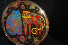 Laurel Burch 'Flowering Felines' Royal Doulton Franklin M. Porcelain Plate  MINT