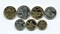 ✔ Russland 1 - 100 Rubel 50 Jahre Große Eroberung 1995 Souvenirs Seltene Münzen